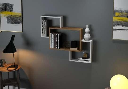Table TV avec étagère mural image 11