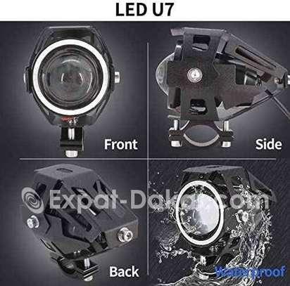 Paire Lampe Led U7 pour moto image 3