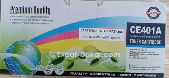 Cartouche compatible hp 507a ce400a image 1
