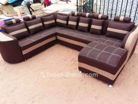Salon, fauteuils, canapé d'angle image 4