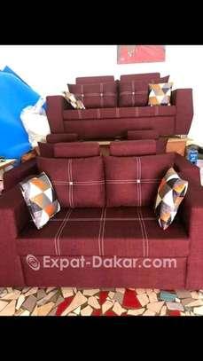 Salon, canapé, fauteuil image 1