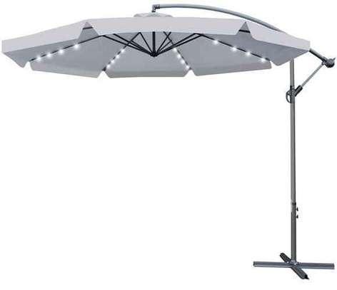 Grand Parasol d'extérieur jardin avec led intégré image 1