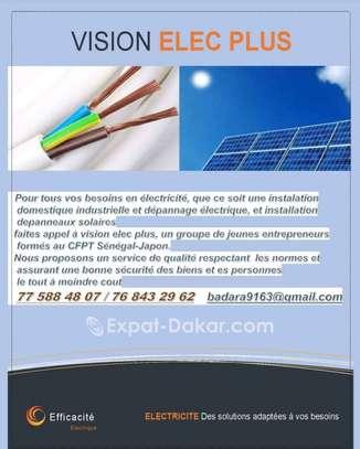 Électricien à votre disposition image 1