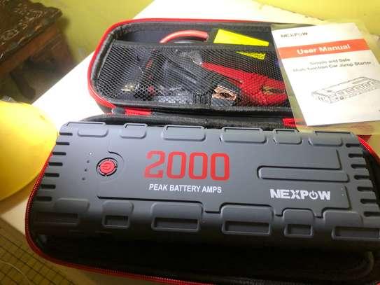 Booster de démarrage auto pour batterie à plat image 4