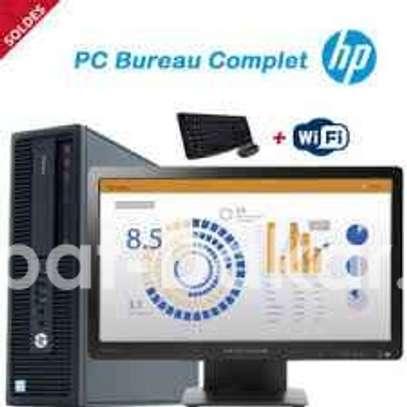 Hp prodesk core i3+ecran 22pouces image 2