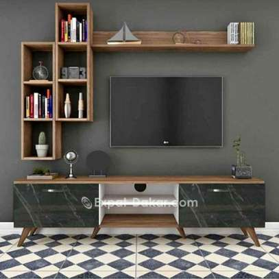 Meuble TV bibliothèque image 2