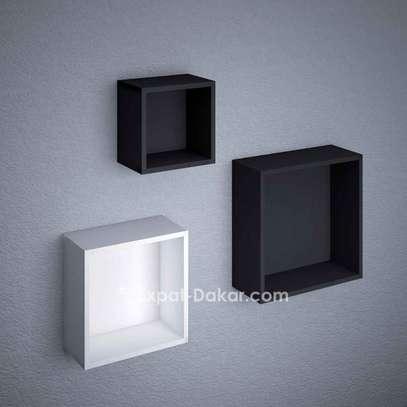 3 étagères cubes de décor image 3