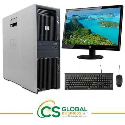 COMPLET HP Z600 | DOUBLE PROCESSEURS image 1