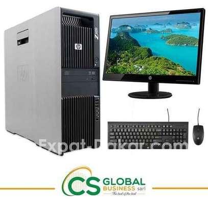 COMPLET HP Z600/ DOUBLE PROCESSEUR image 1
