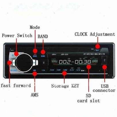TEMPSA Autoradio Stéréo 1Din 12V - Bluetooth Lecteur USB - SD - RADIO FM - AUX image 2