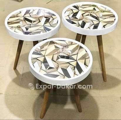 3 pièces tables image 1