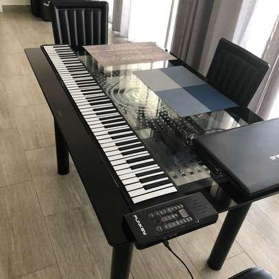 Clavier piano souple et pliable image 1