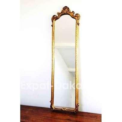 Grand miroir de chambre ou de salon - avec support image 2