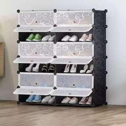 Rangement de chaussures en plastique image 1