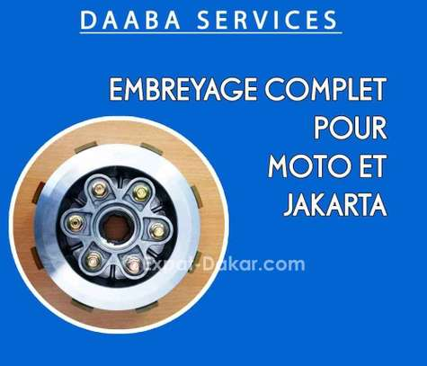 Embrayage complet pour moto image 1