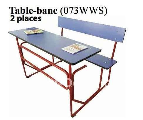 Table bancs pour école image 3