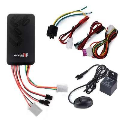 GPS de voiture de traqueur de véhicule gps trackers GPS/GSM/GPRS Véhicule GPS tracker de Voiture TK100/GT06 image 1