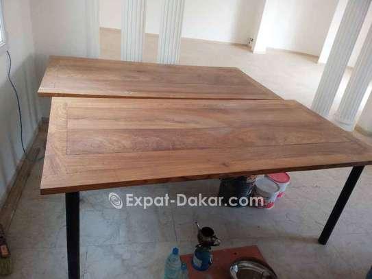 Table bois Djibouti de qualité image 5