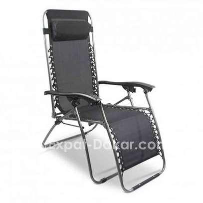 Chaise longue pliable image 1
