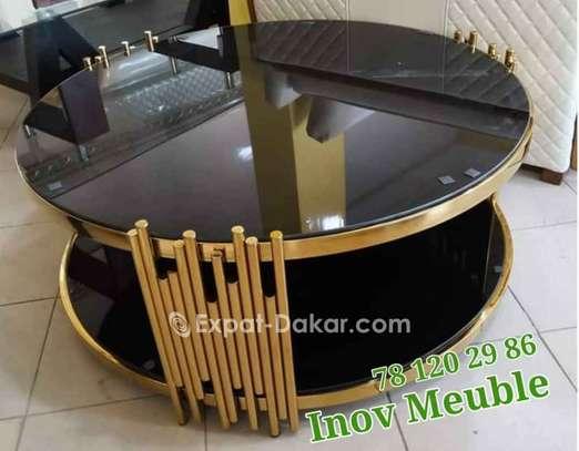 Table salon dorée image 2