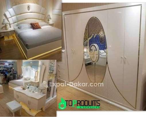 Chambre à coucher+Matelas offert image 4