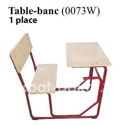 Table bancs pour école image 5