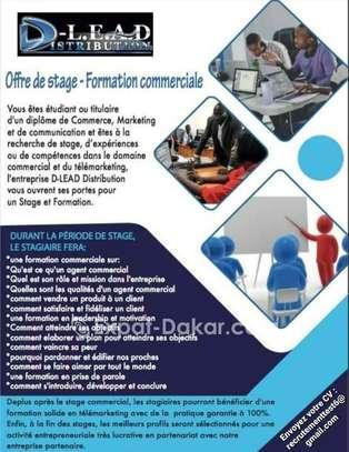 OFFRE DE STAGE - FORMATION COMMERCIALE image 1