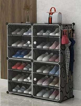 Rangement chaussure en plastique 24 paires image 3