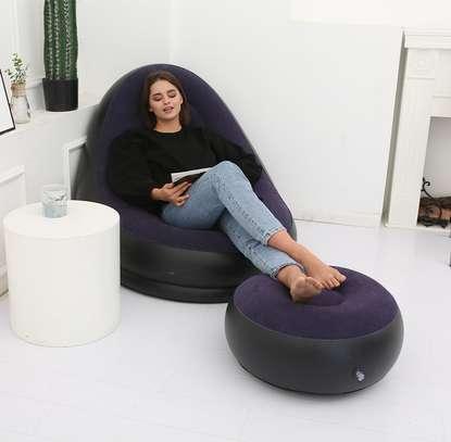Canapé de jardin gonflable image 1