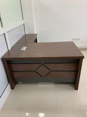 Table bureau direction avec Retour image 4
