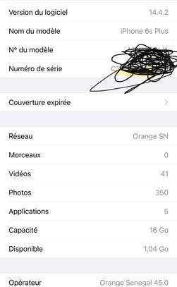 Iphone 6s plus 16gb image 3