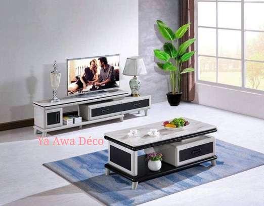 Table basse et table télé image 3