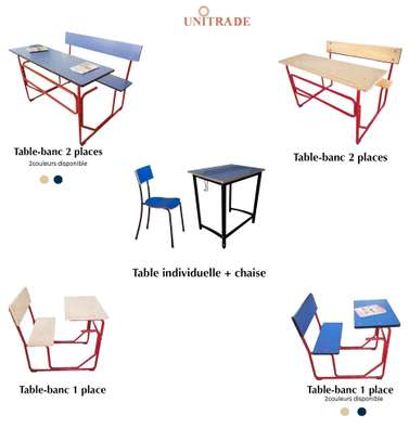 mobilier scolaire image 1