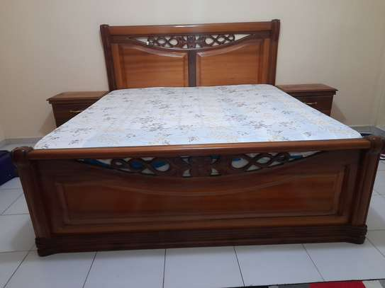 Chambre à coucher bois Djibouti image 1