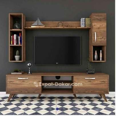 Meuble TV bibliothèque image 1