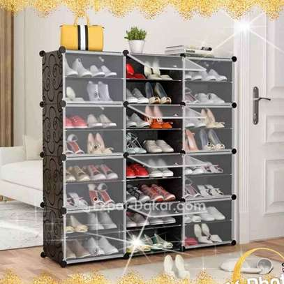 Rangement chaussures cube 48 paires image 2