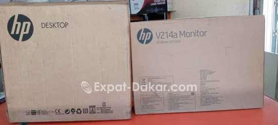 """HP core I7 neuf + 19"""" image 1"""