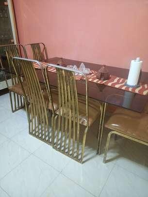 Table à manger en verre image 1