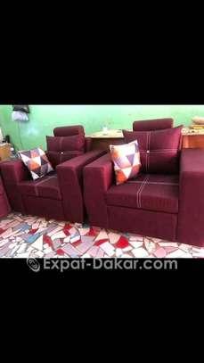 Salon, canapé, fauteuil image 4