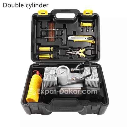 Pompe à air double cylindre image 1