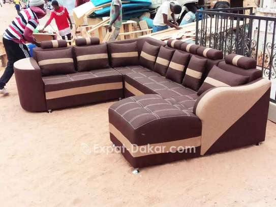 Salon, fauteuils, canapé d'angle image 1