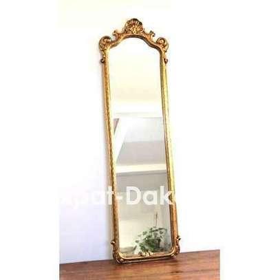 Grand miroir de chambre ou de salon - avec bordure image 1