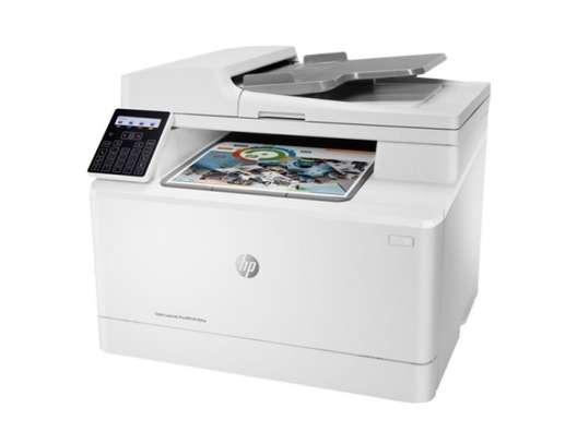 Imprimante HP laserjet pro MFP 183 fw laser multifonction image 2