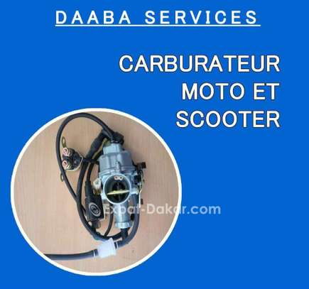 Carburateur moto et scooter image 1