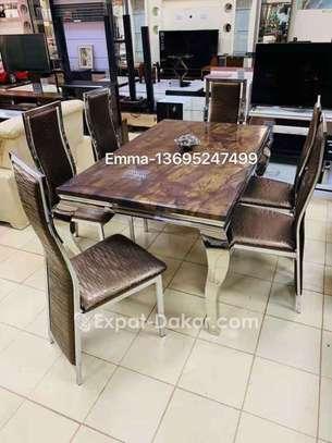 Table à manger marbre vip image 3