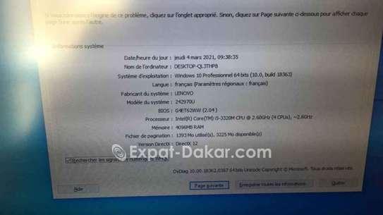 """Core i5 4go 500go 15"""" lenovo image 5"""