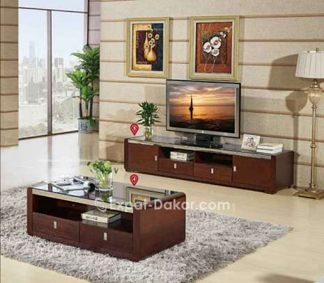 Ensemble table TV et table basse image 4