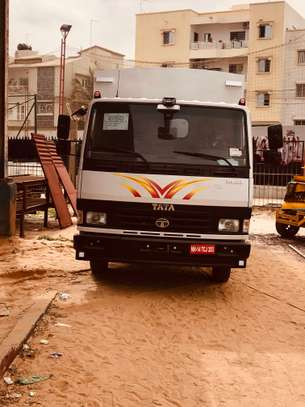 Camion- camionnette. Confection et pose de caisse image 6