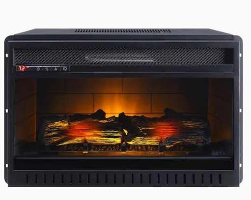 Meuble de télévision avec un chauffage intégré image 5