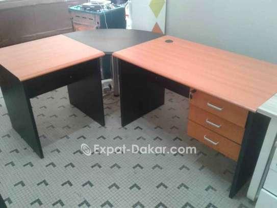 Tables de bureau avec retour/Open space image 2